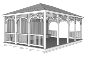 GAZEBO DRAWING