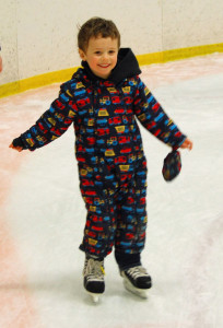 First time on skates!